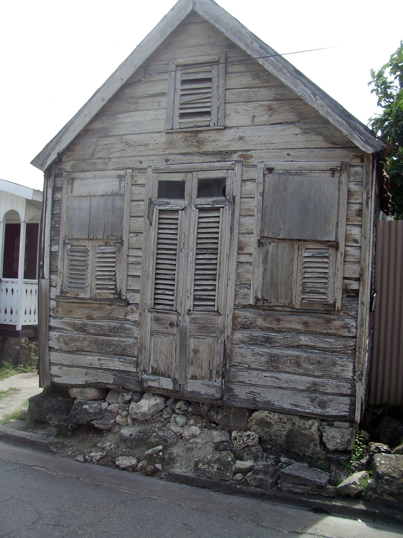 A 19th century 'chattel house'