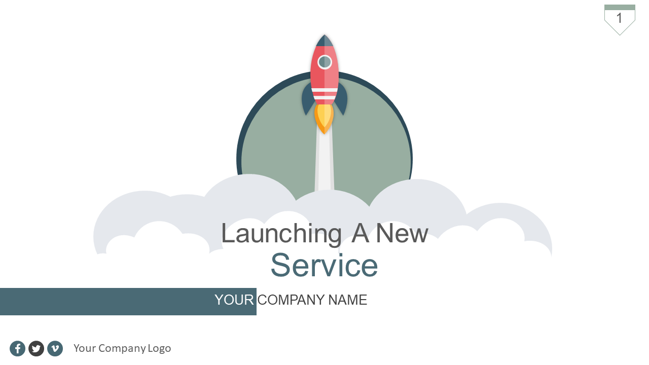 Launching a New Service Go to Market Plan PPT Template