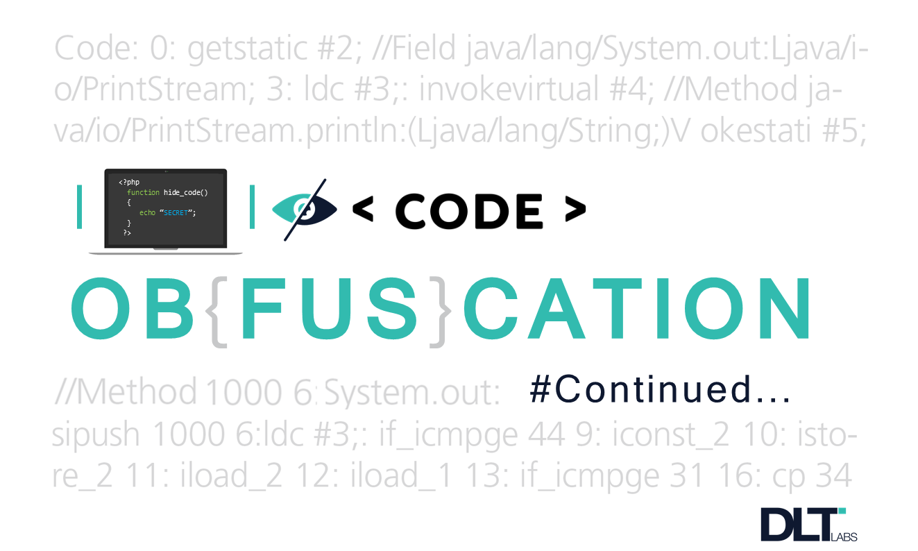 Implementing code obfuscation