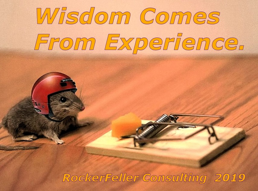 When Trading Stocks and Riding Motorcycles, wisdom comes from experience.