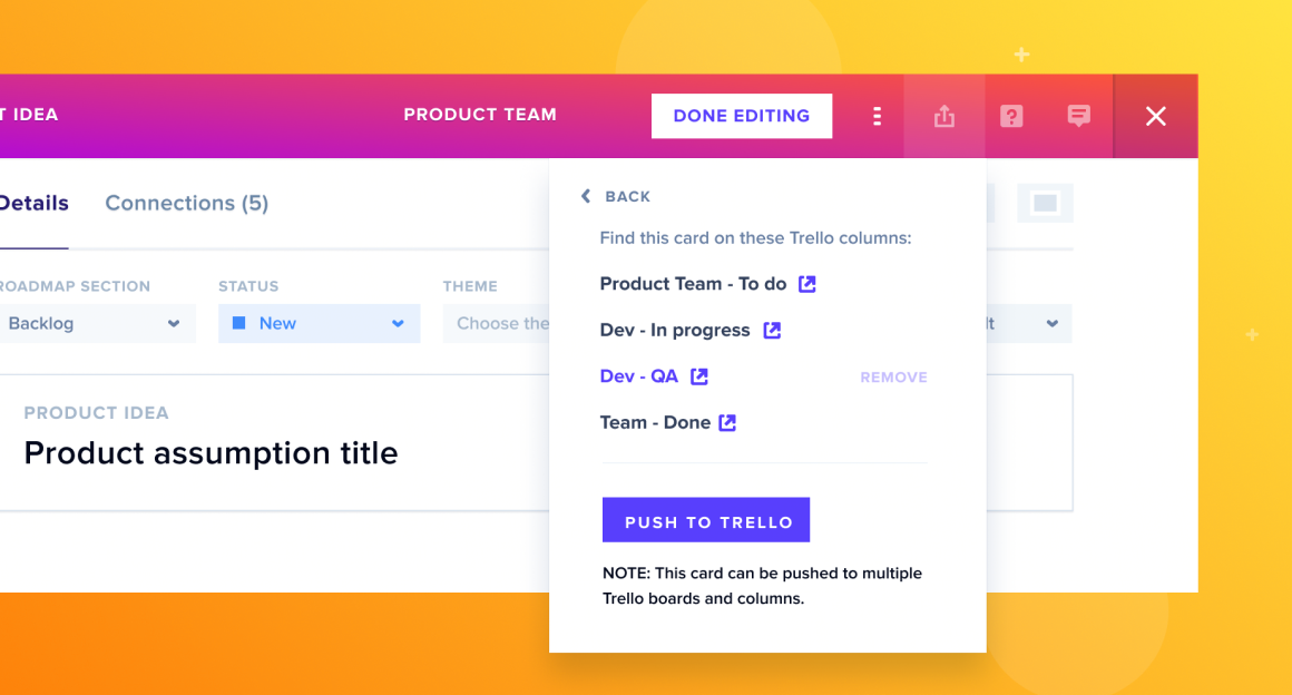 If your team is using Trello for agile software development, the GLIDR integration is for you