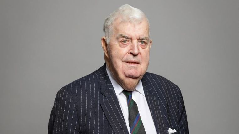 Photograph of Lord Kilclooney, a Peer in the UK House of Lords.
