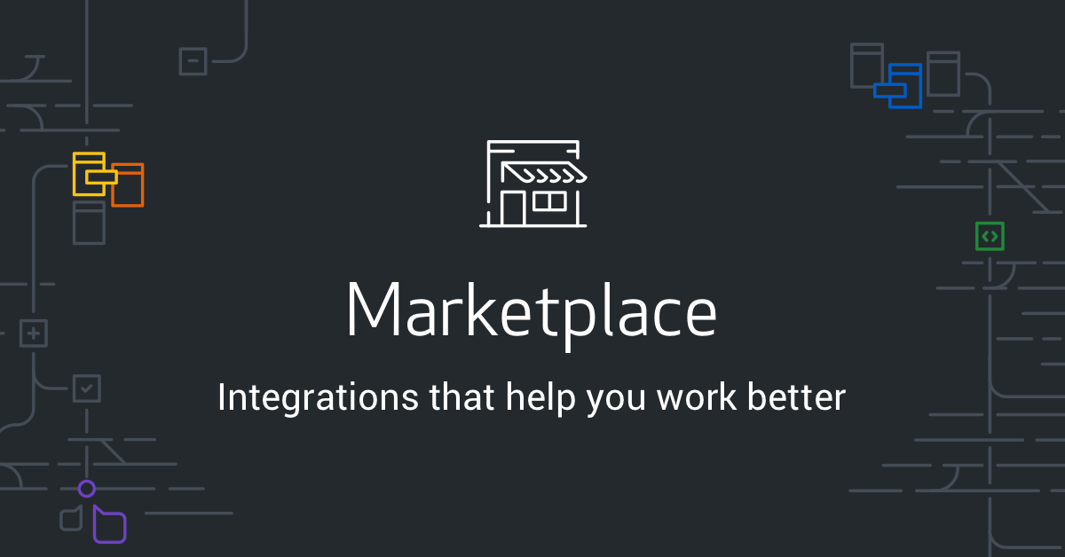 Screenshot of GitHub marketplace