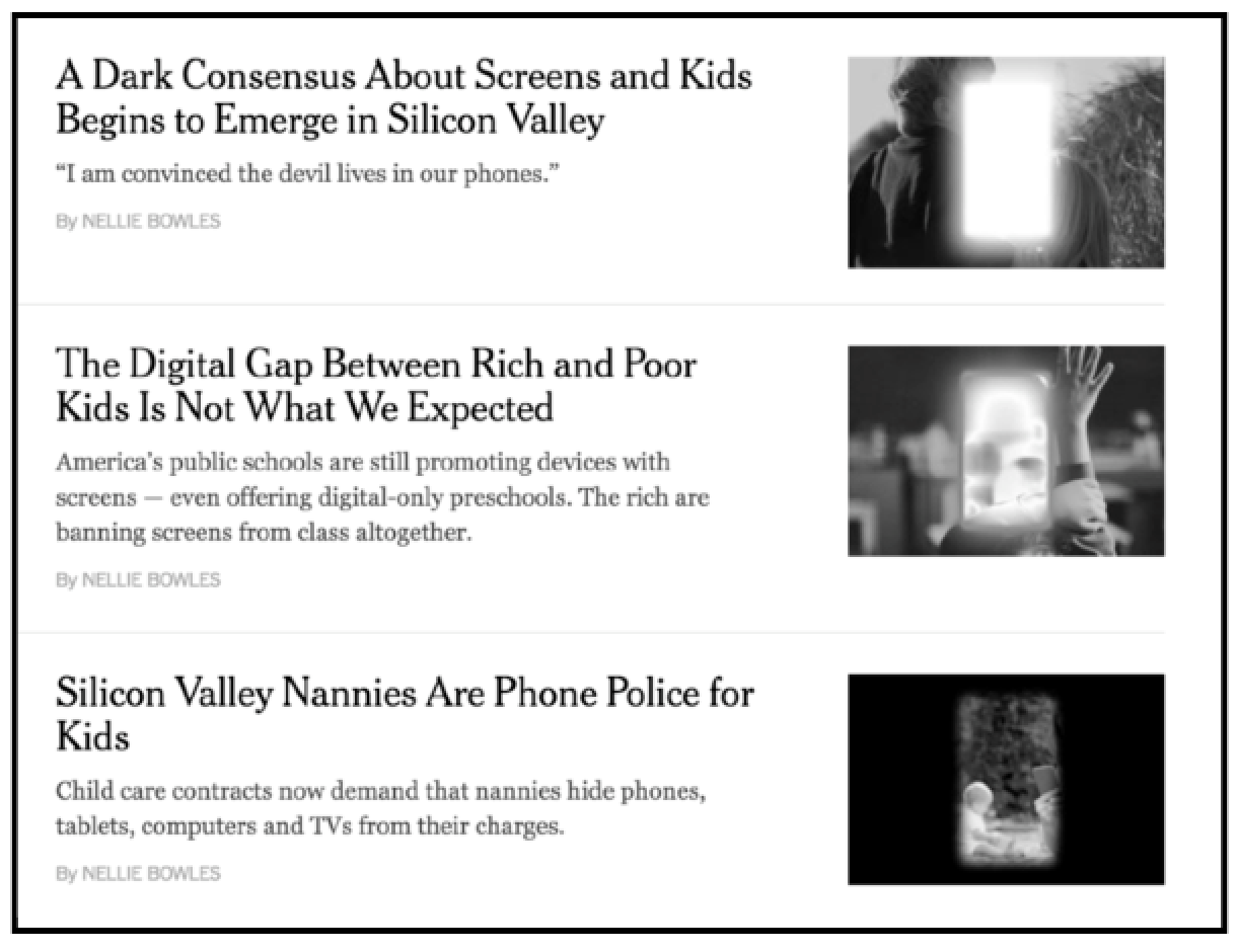 A Dark Consensus About Screens And Kids >> Screens Children What Should You Really Worry About