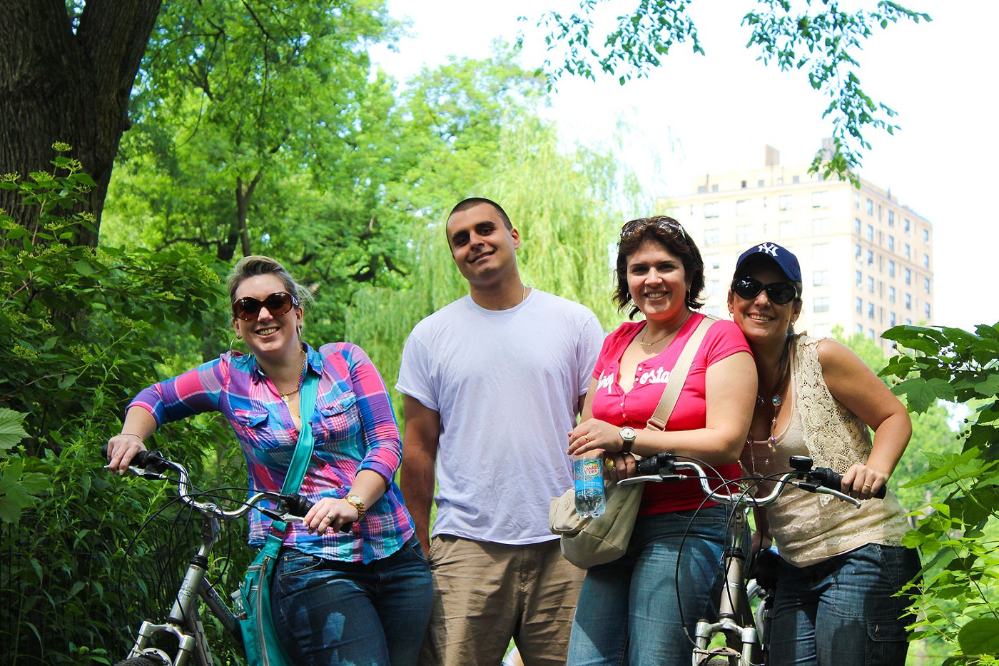 biking in central park with central park tours