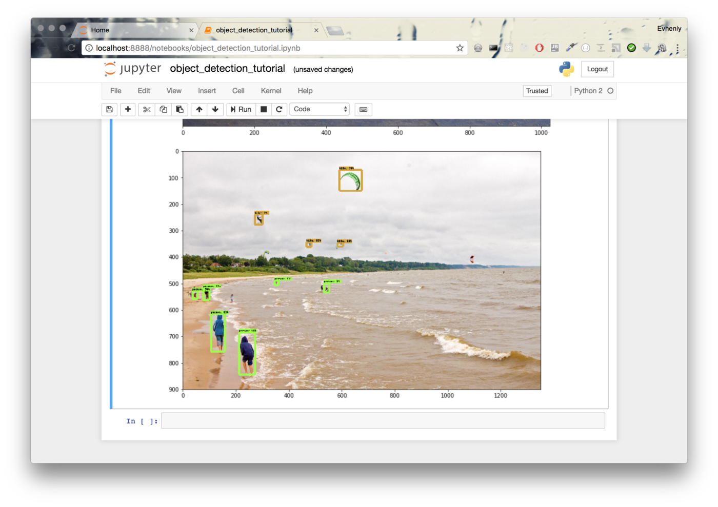 TensorFlow Object Detection with Docker from scratch
