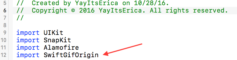 How to Add GIFs to UIImageViews in Swift - Yay It's Erica - Medium