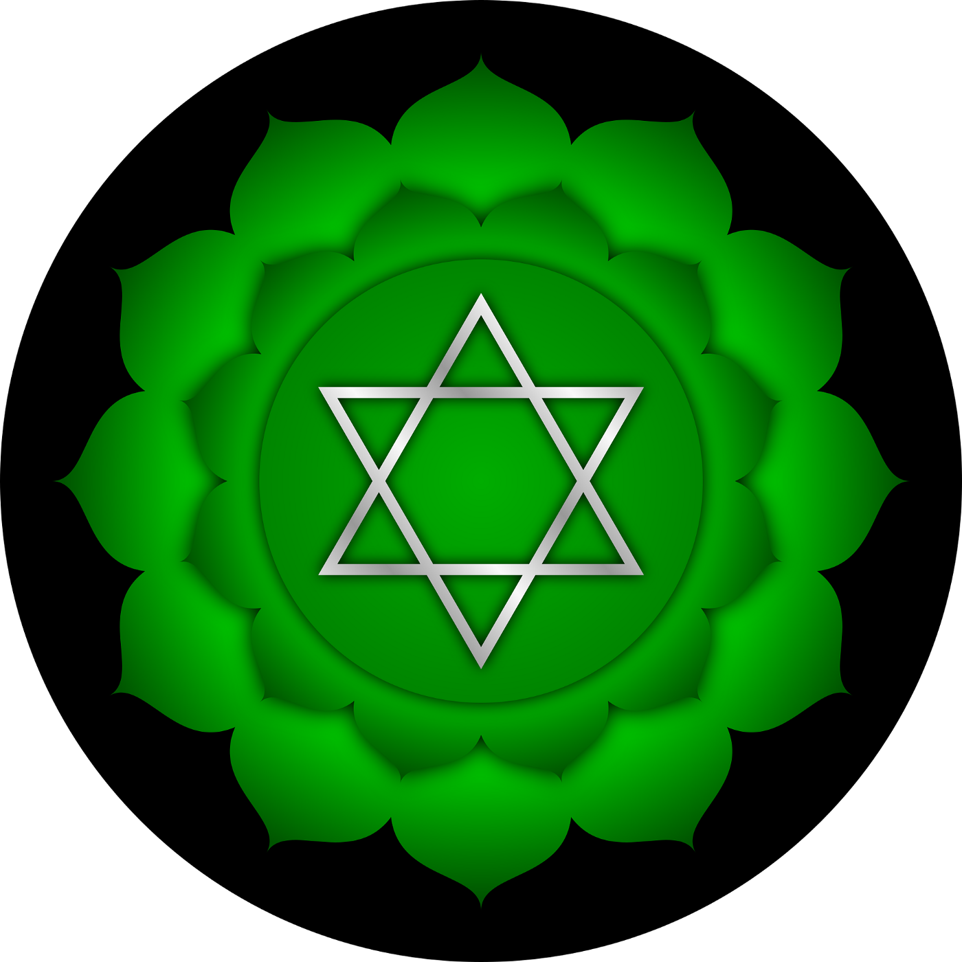 Green carries the vibration of growth, new beginnings, health, renewal, harmony, peace, and love.