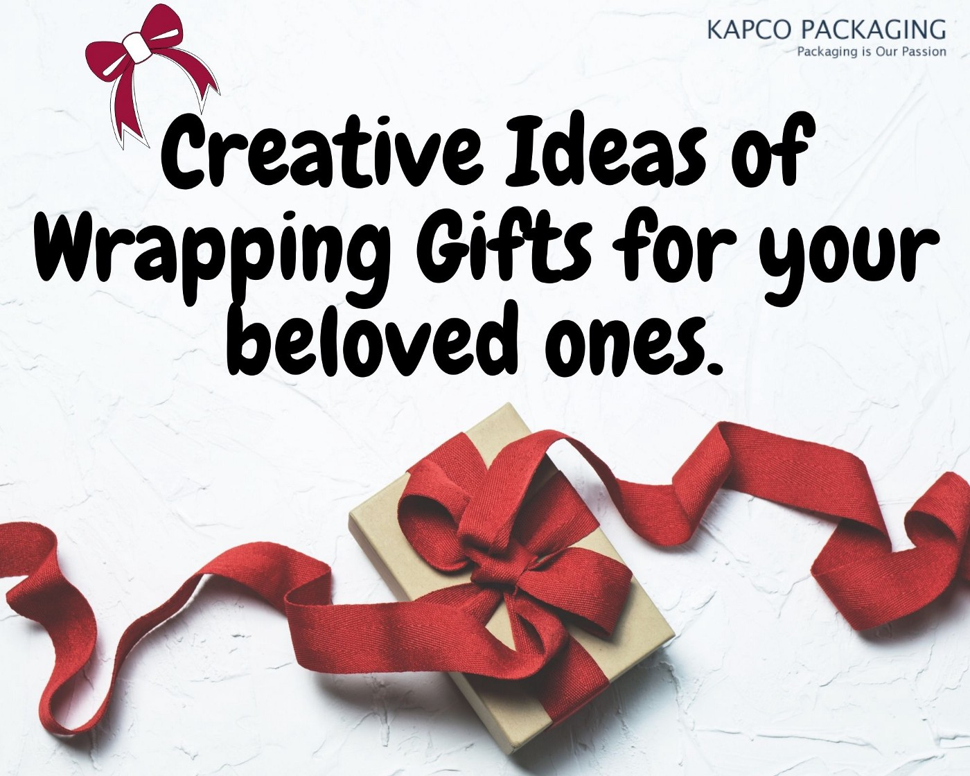 Creative Ideas of Wrapping Gifts for your beloved ones.