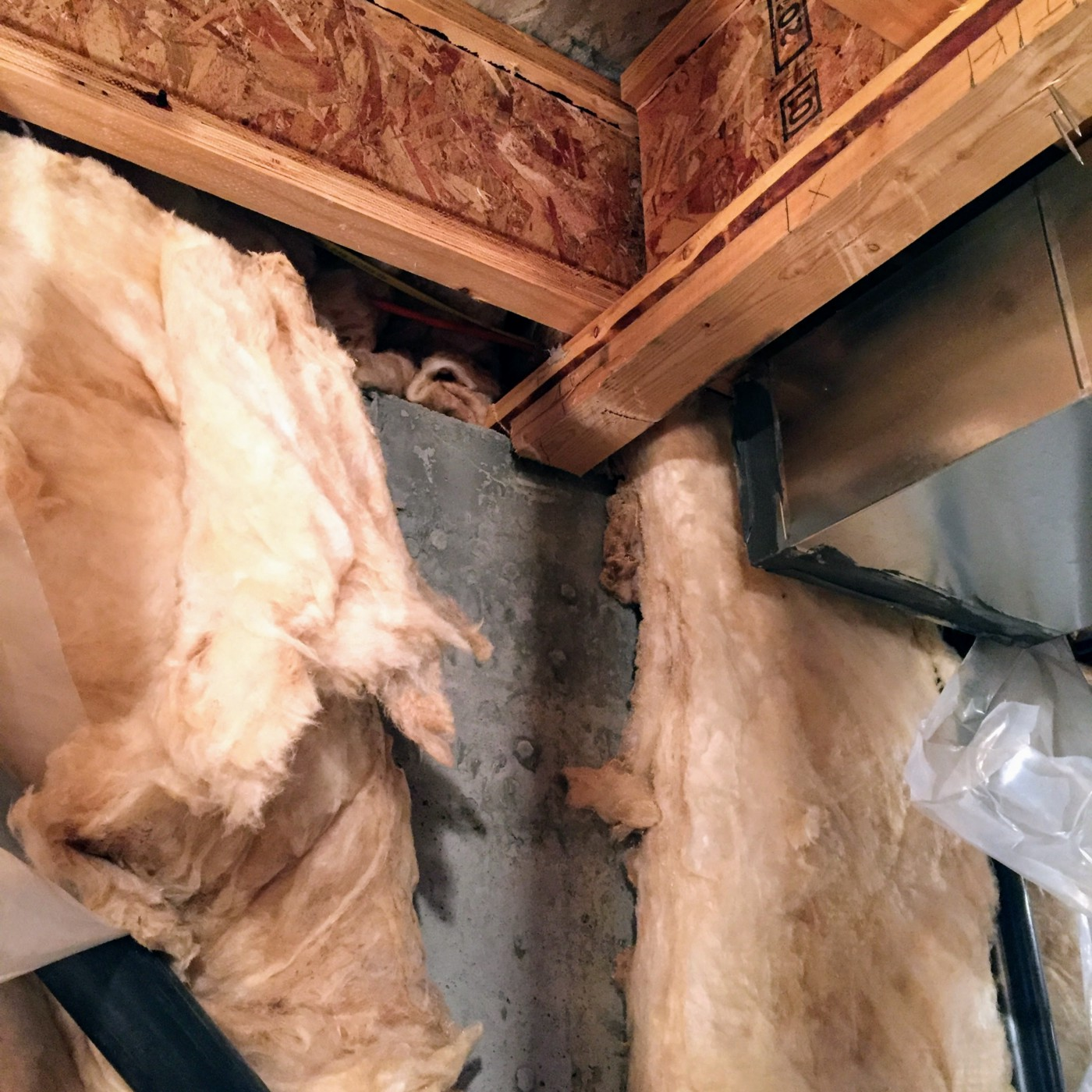 Replacing a second load bearing wall with a double LVL beam