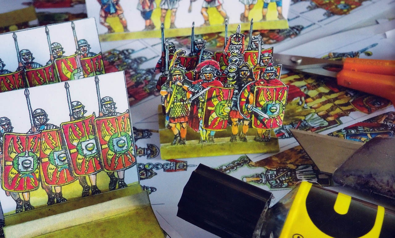 Disposable Heroes: Paper Soldiers In A World Of Plastic