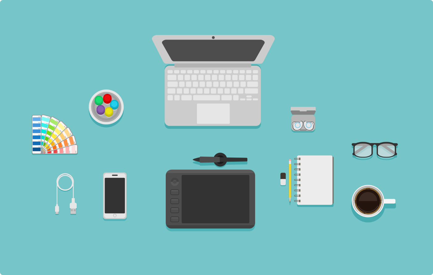 Digital Accessories Vector Image by Md Easin Alif