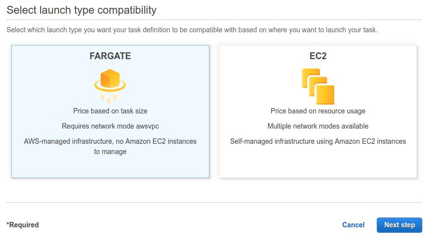 AWS Fargate Services Deployment with Continuous Delivery Pipeline