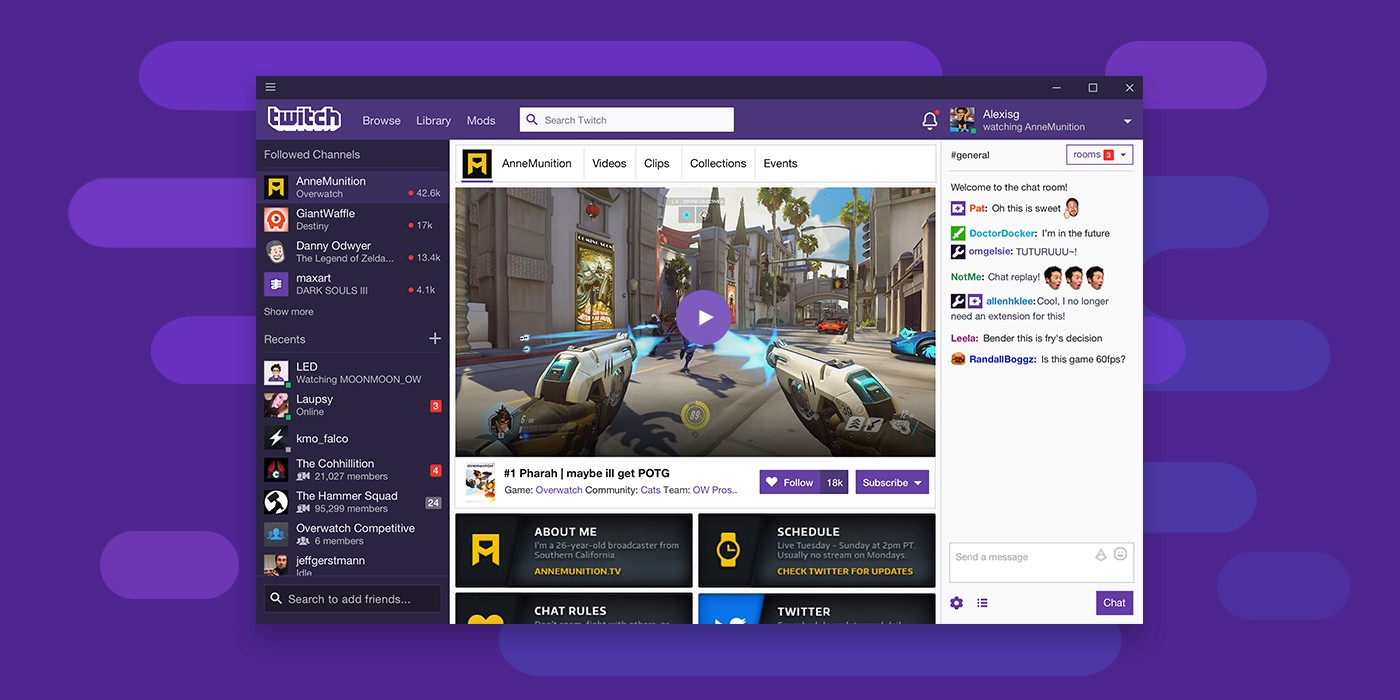 The new Twitch Desktop App is here - Twitch Blog