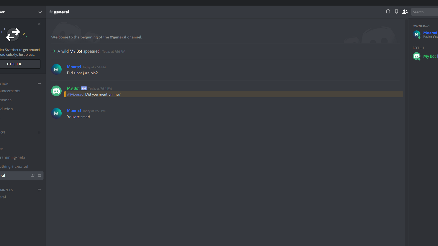 How can you create and deploy your own Discord Bot using JavaScript