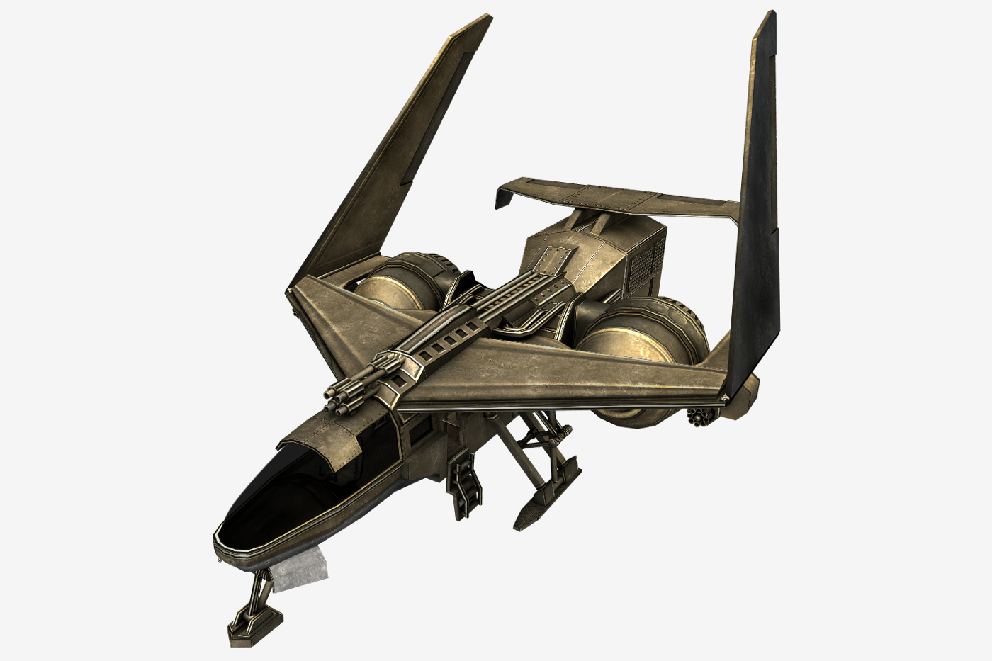 Fig. 1. OBJ format is widespread in the 3D graphics space, so it is often used for digital art assets.
