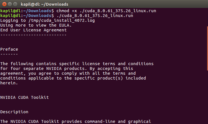 How to Setup Ubuntu 16 04 with CUDA, GPU, and other requirements for