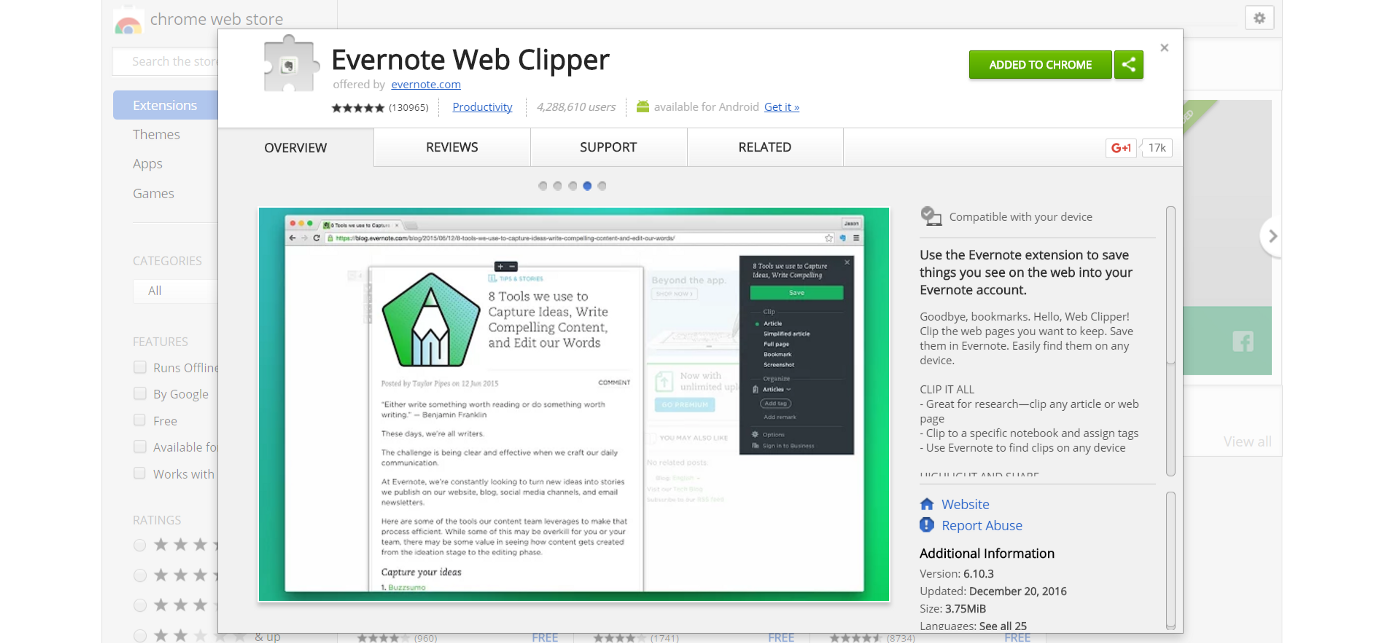 5 Chrome Extensions that Help You Save Articles for Later