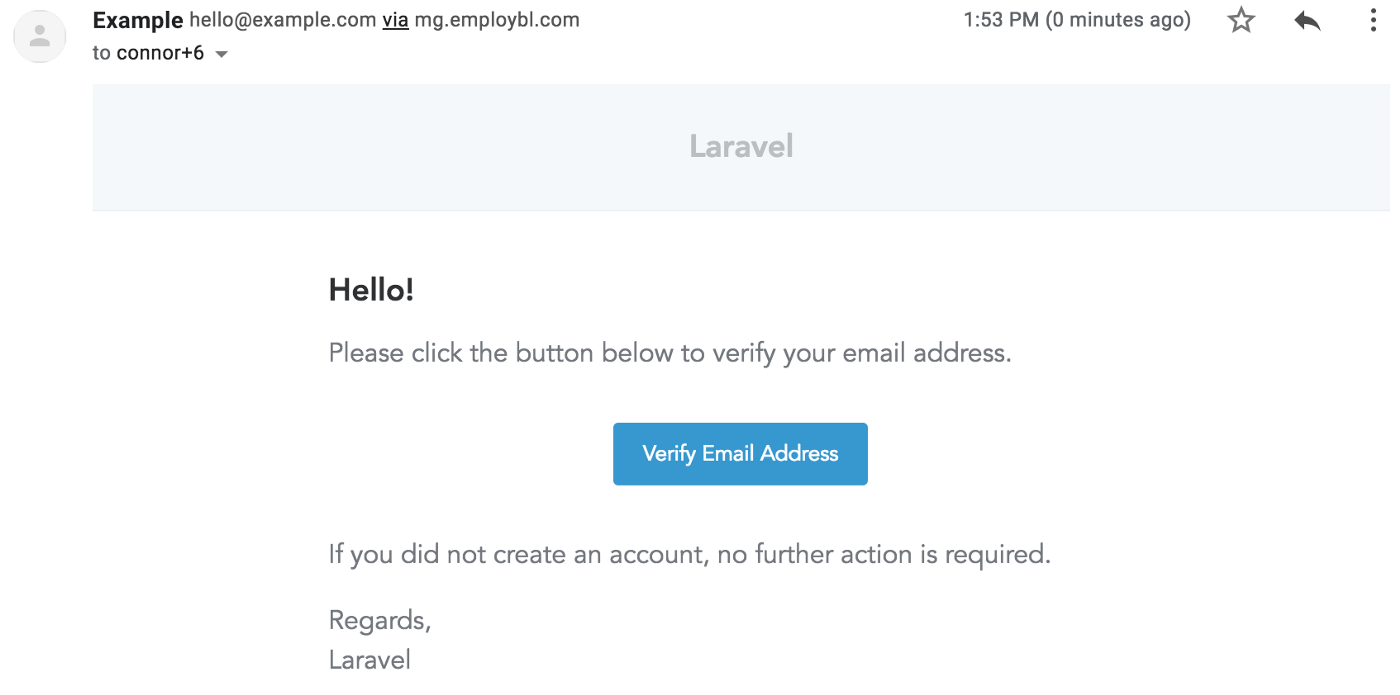 Build Laravel 5 7 Email Authentication with Mailgun and Digital Ocean