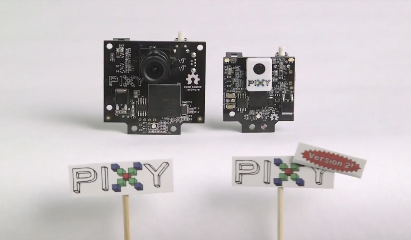 Pixy2 CV Sensor Is Smaller, Faster, and More Capable Than the Original