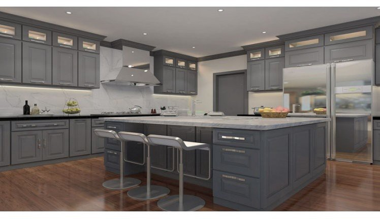 Top 7 Amazing Kitchen Countertop Ideas For Your Grey Cabinets