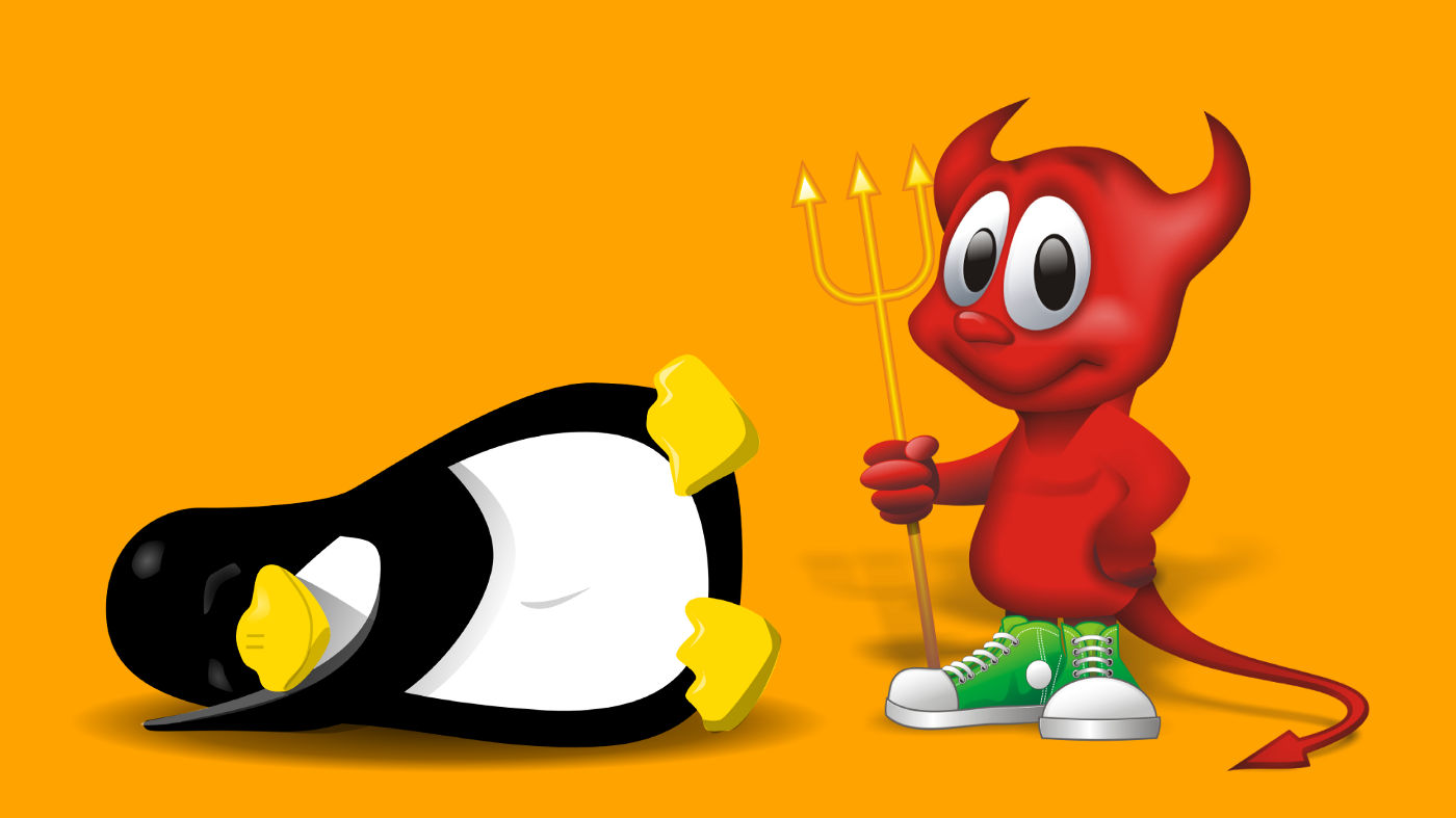BSD and Linux mascots