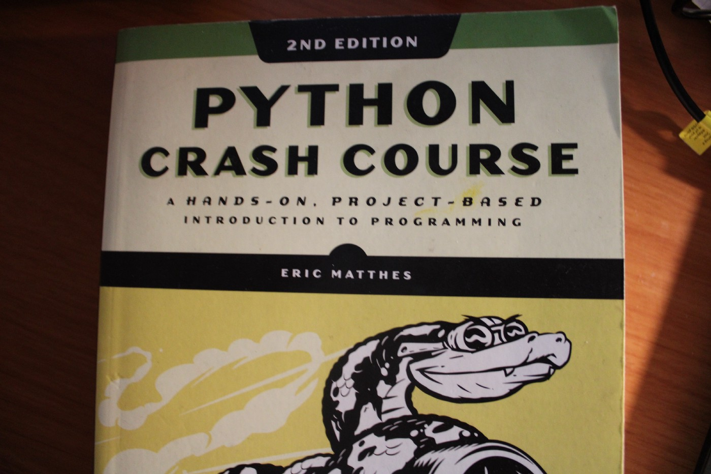 Python Crash Course, 2nd Ed, by Eric Matthes