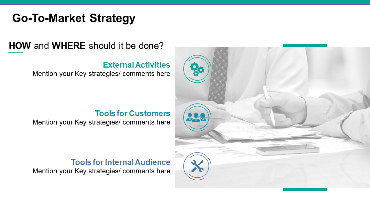 Go to Market Strategy PowerPoint Visual