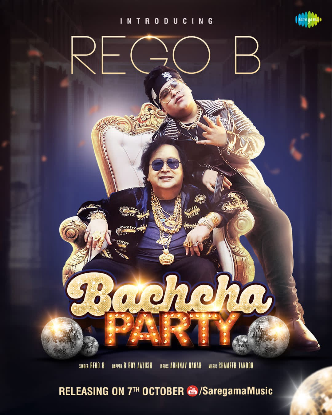 """""""BACHCHA PARTY"""" FEATURING GLOBAL SUPERSTAR R.E.G.O.B CROSSES 1 MILLION VIEWS IN JUST 4 DAYS"""