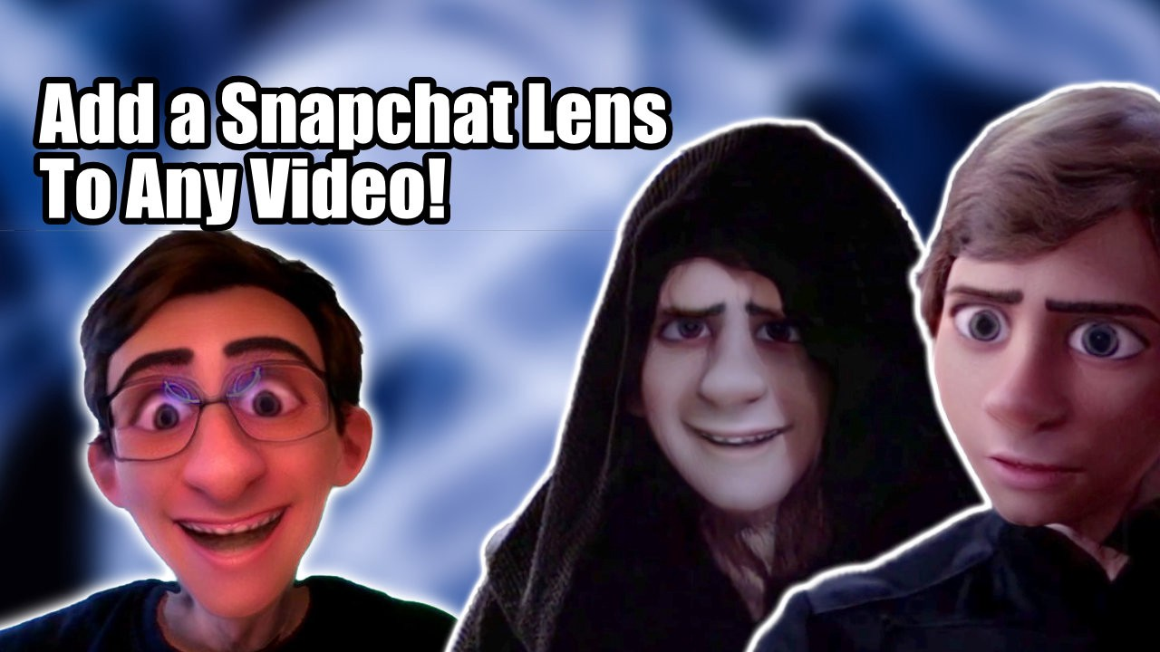 Apply a Snapchat lens to ANY video using SplitCam and Snap Camera