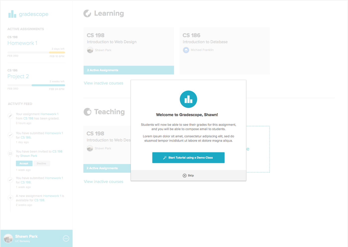 Gradescope Redesign: Creating a habit-based user interface