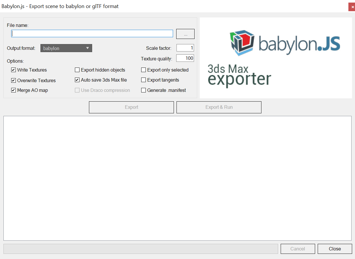 Exporting 3D content for Babylon js - Babylon js - Medium