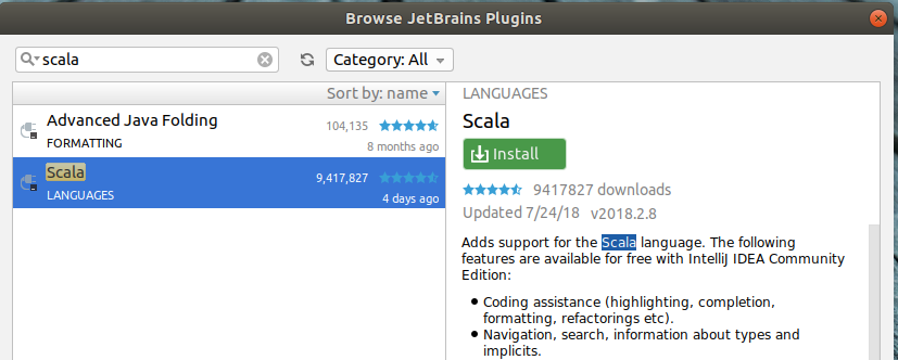 Installing Scala plugins in IntelliJ - devilsadvocatediwakar - Medium