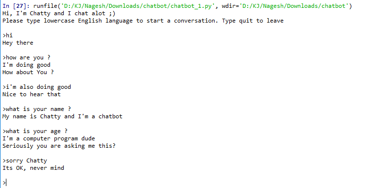 Build your first chatbot using Python NLTK - Towards Data Science