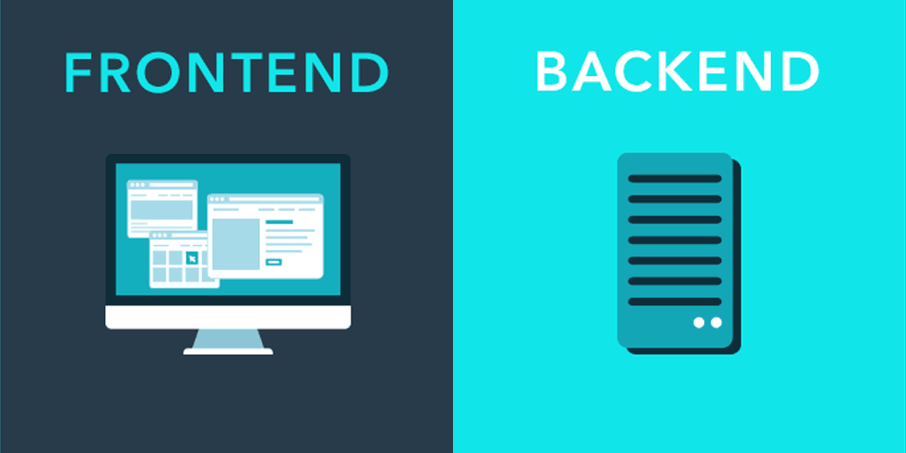 frontend vs. backend