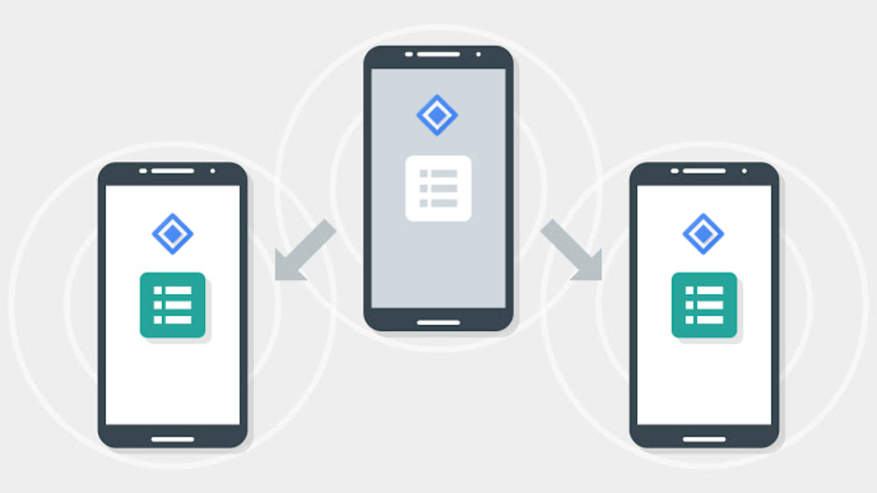 SETTING UP BEACONS AND MESSAGES BY USING NEARBY API DEVOID BEACON