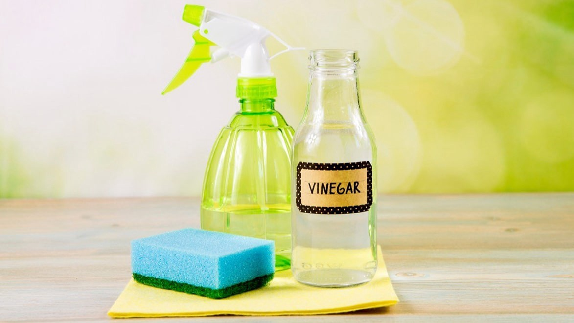 Use vinegar to clean