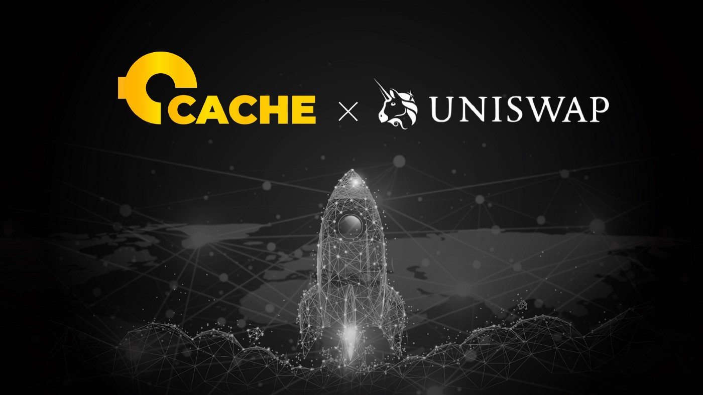 CACHE Gold (CGT) is now available on Uniswap!
