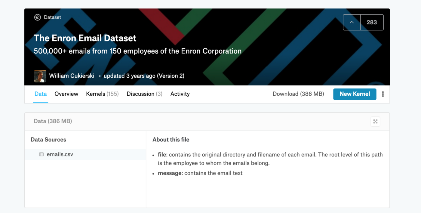 NLP with LDA: Analyzing Topics in the Enron Email dataset