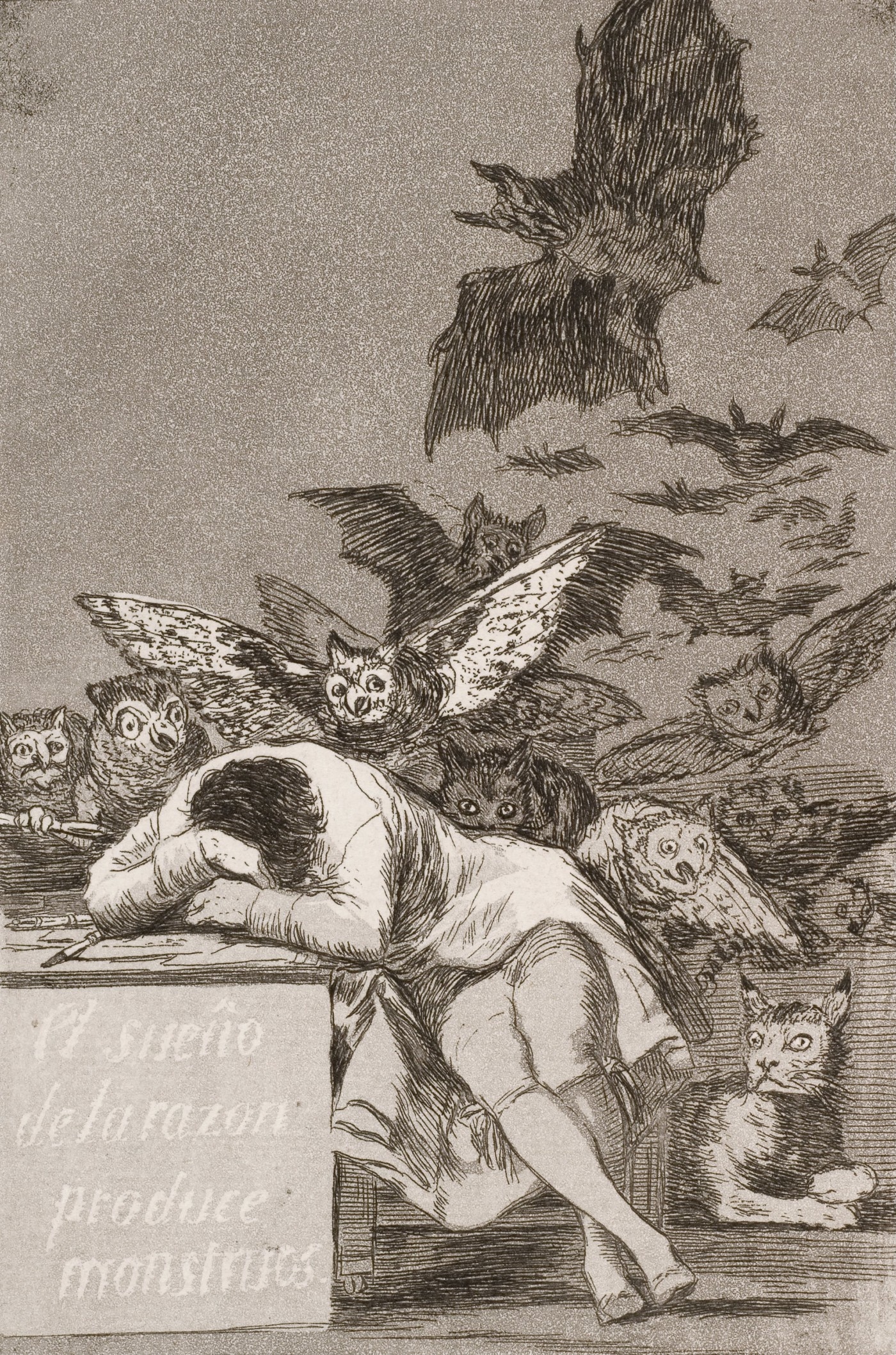 """The Goya Painting: """"The Sleep of Reason Produces Monsters."""""""