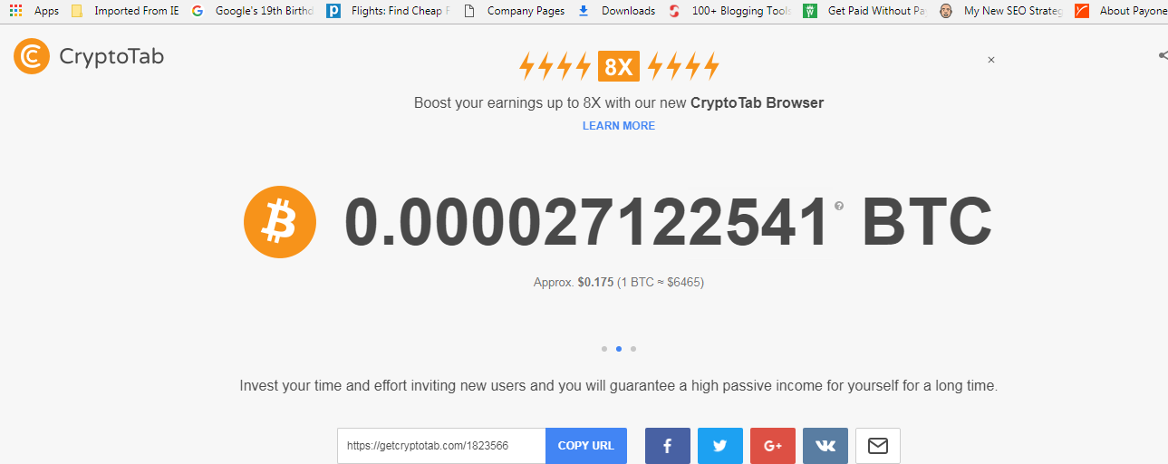 All you need to know about how to mine bitcoin from the Cryptotab