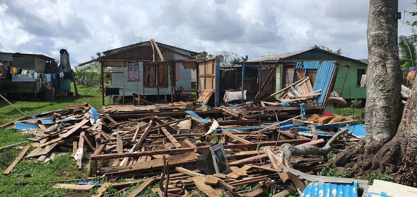 Recovery efforts on Fiji, after Cyclone Yasa swept through the island nation aided by the United Nations Development Program's Pacific Office, January 2021.