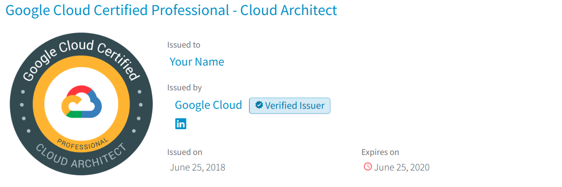 Taking Google Cloud Certification Cloud Architect