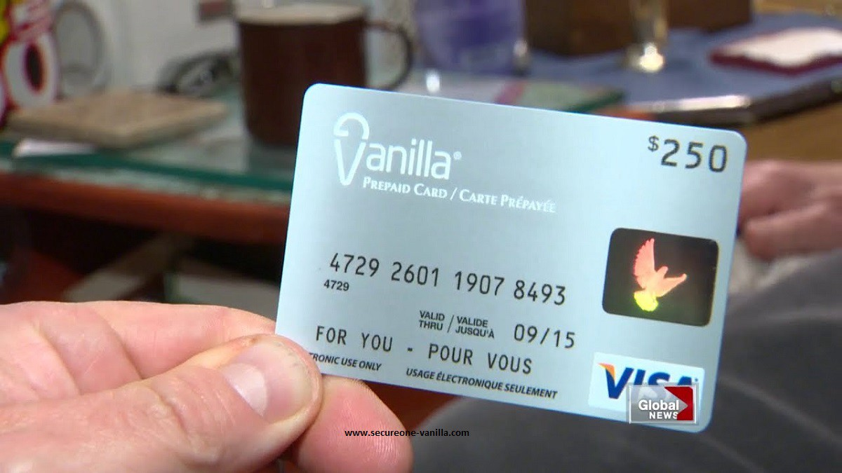 Check Balance On OneVanilla Prepaid Visa Card by Secureone