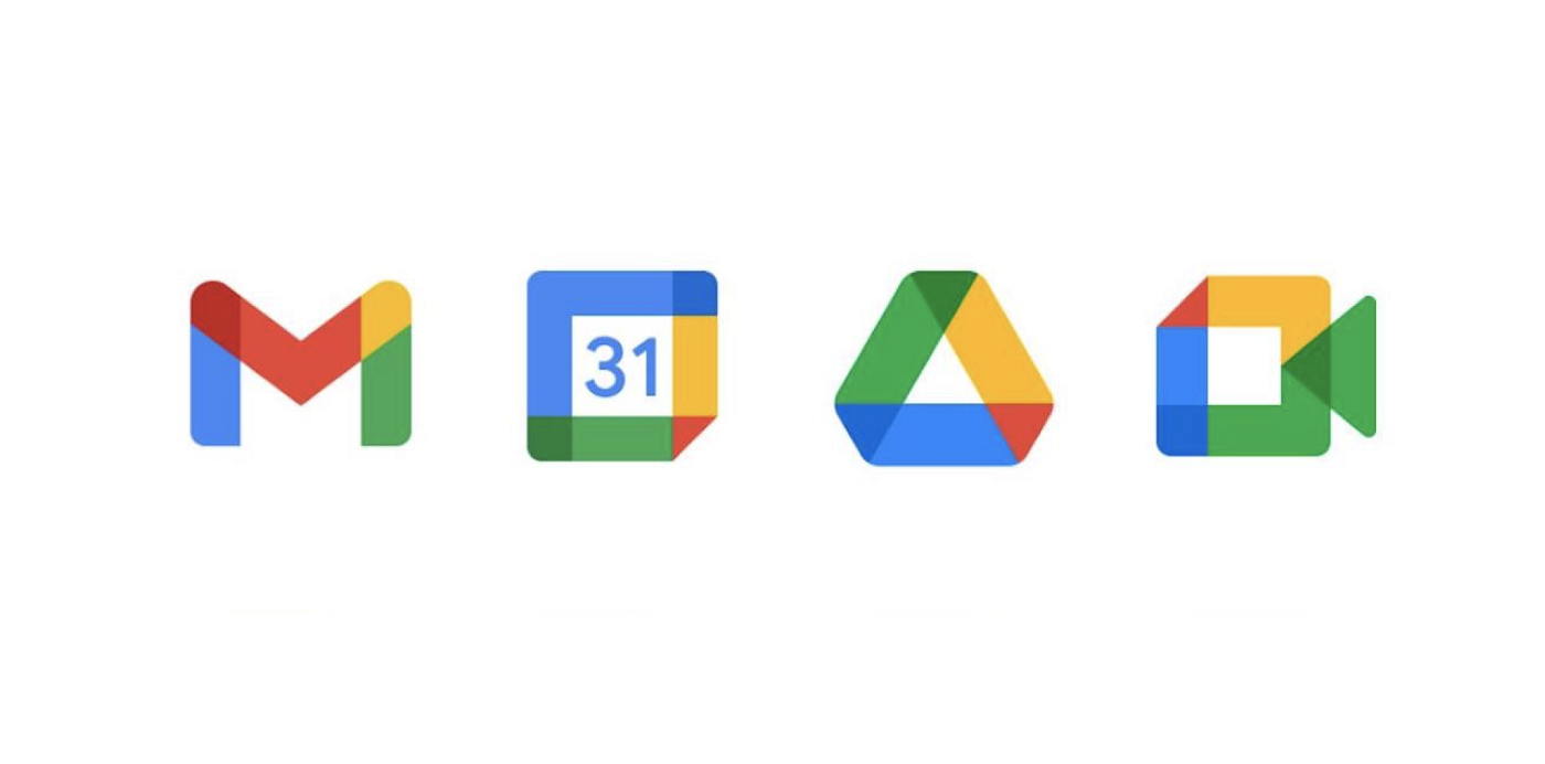 Google New Icons Confusing: Gmail, Meet, Calendar, Drive