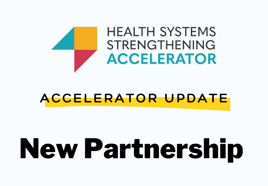 The Health Systems Strengthening Accelerator is pleased to welcome a new partner in Cote d'Ivoire to support the HIV response