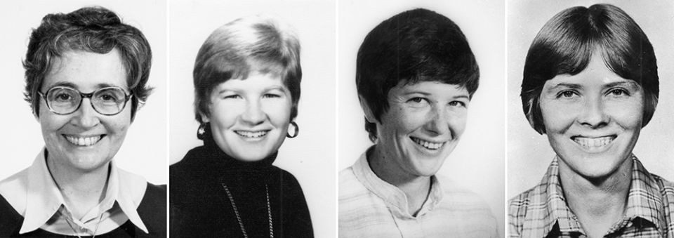 Maryknoll Sister Maura Clarke, lay worker Jean Donovan, Maryknoll Sister Ita Ford and Ursline Sister Dorothy Kazel were brutally murdered in El Salvador in 1980.