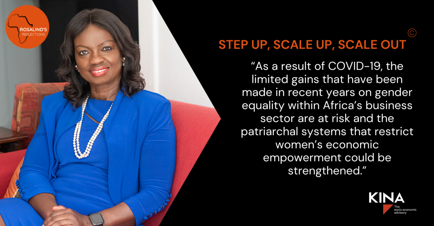 Kina Advisory image re: Five Ways that Gender Diversity Creates Value for African Companies