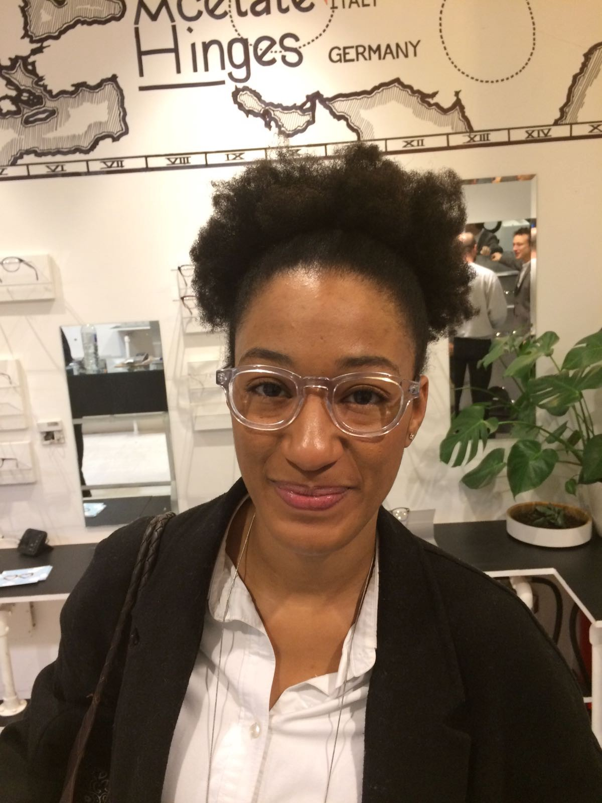 A picture of Krystle McGilvery wearing glasses and smiling