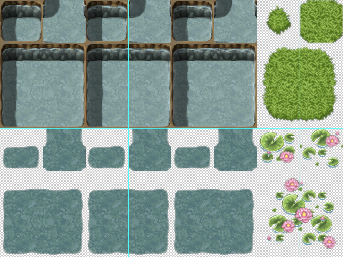 Bot's Guide to Custom Art in RPGmaker MV: Understanding Tilesets